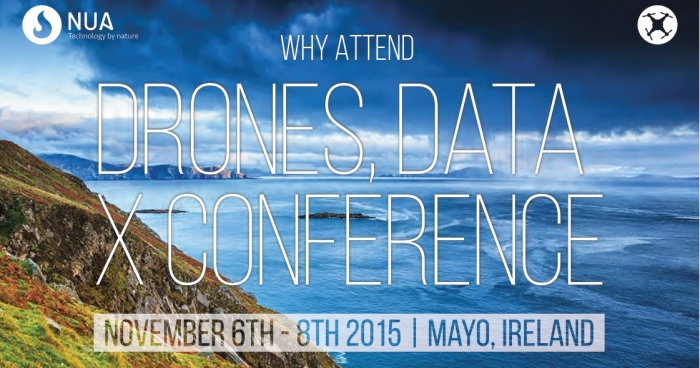 Drone Data X Conference 2015 Image