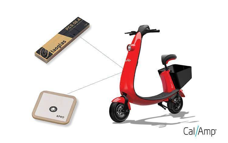 Taoglas and CalAmp Power OjO to Revolutionize the Electric Scooter Market